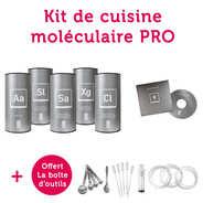 Saveurs MOLÉCULE-R - Professional Molecular Gastronomy Kit