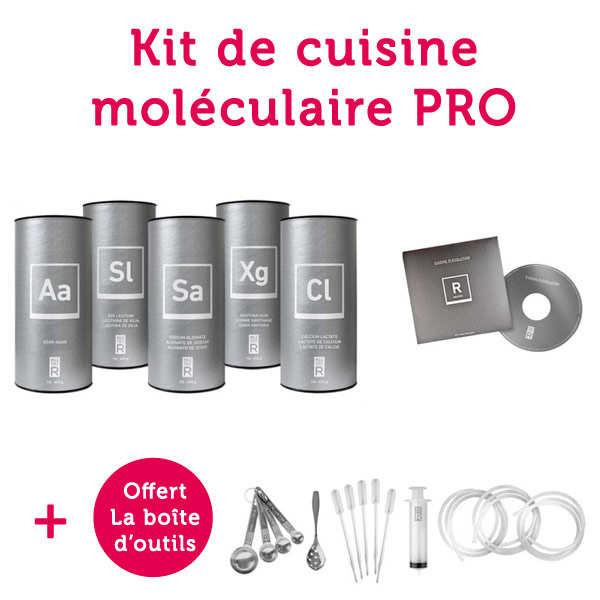 Kit de cuisine moléculaire Chefs Initiation pour les pros