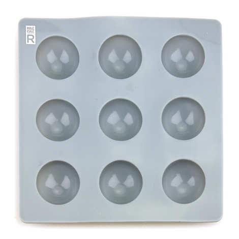 Saveurs MOLÉCULE-R - Moule en silicone demi-sphères 2.8cm - sphérification