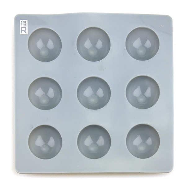 Moule en silicone demi-sphères 2.8cm - sphérification - le moule en silicone