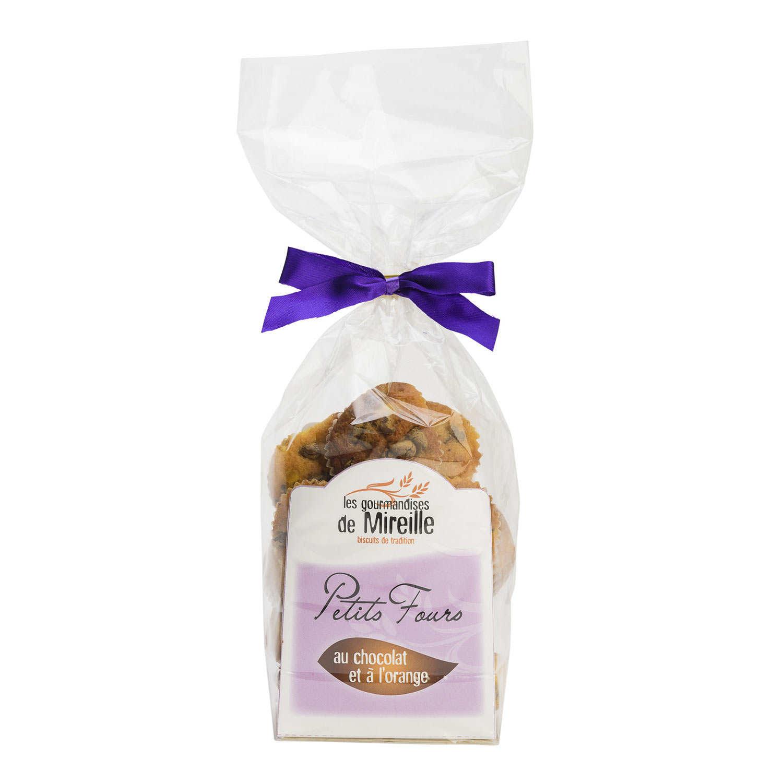 Petit-Four Cakes with Chocolate and Orange