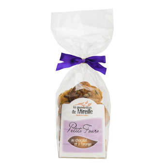 Mireille Faucher - Petits fours chocolat-orange