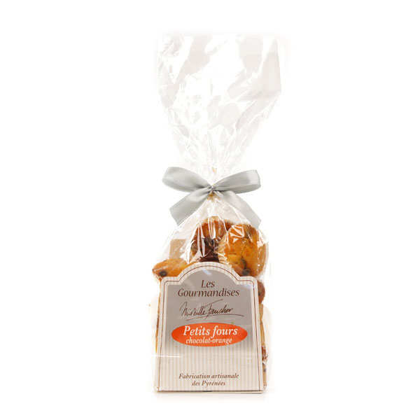 Petits fours chocolat-orange