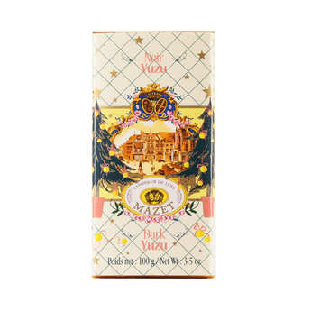 Mazet de Montargis - Tablette de chocolat noir au Yuzu