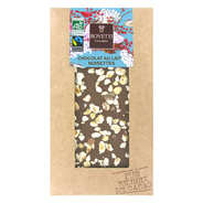 Bovetti chocolats - Tablette chocolat au lait et noisette - Bio