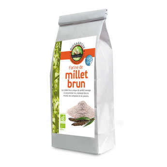 Biosagesse - Farine de millet brun bio
