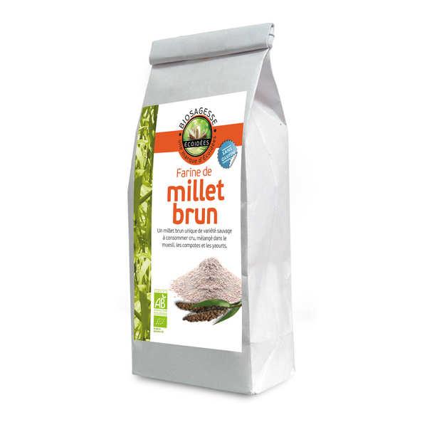 Farine de millet brun bio