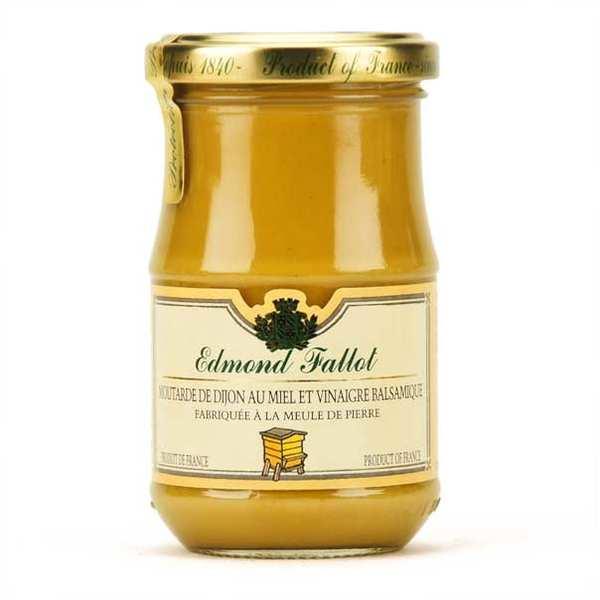 Moutarde de dijon au miel et au vinaigre balsamique fallot - Moutarde fallot visite ...