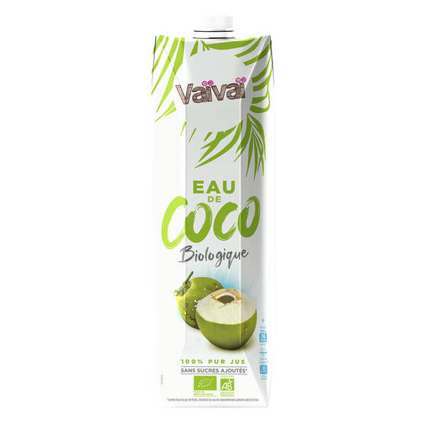 VaïVaï 100% natural coconut water - 1 litre