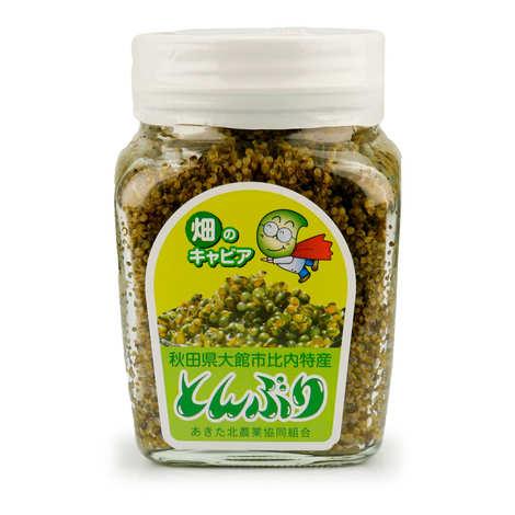 Tazawakocho Nameko JA - Tonburi, caviar des champs d'Akita