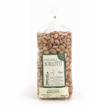 Sala Cereali - Haricots rouges secs italiens Borlotti