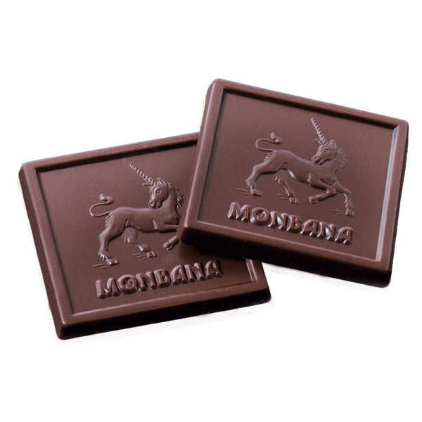 carr s de chocolat p tillants bo te tulipe monbana chocolatier. Black Bedroom Furniture Sets. Home Design Ideas