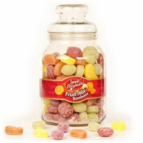 - Old-Fashioned Jar of Fruit Bonbons
