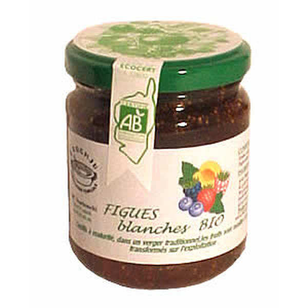 Organic white fig jam from Corsica