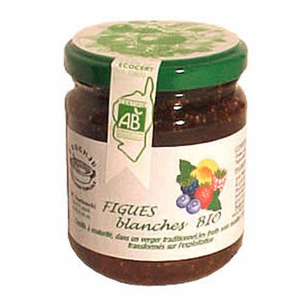 Confiture de figues blanches bio de corse u poghju - Confiture de figues blanches ...
