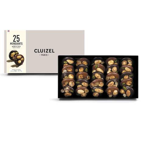 Michel Cluizel - Les mendiants chocolats lait et noir de Michel Cluizel