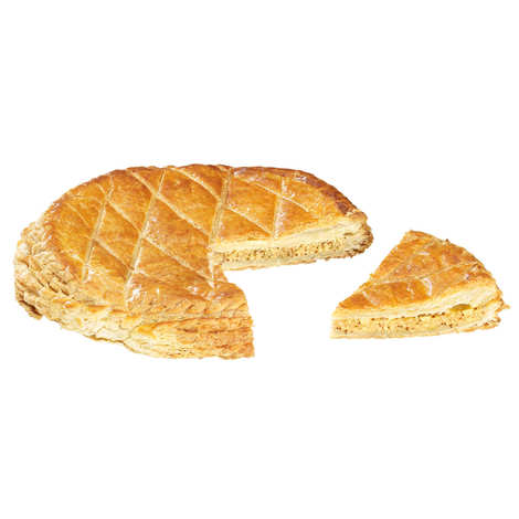 "Belledonne Chocolatier - Organic Galette des Rois Frangipane - ""Epiphany cake"" with almonds"