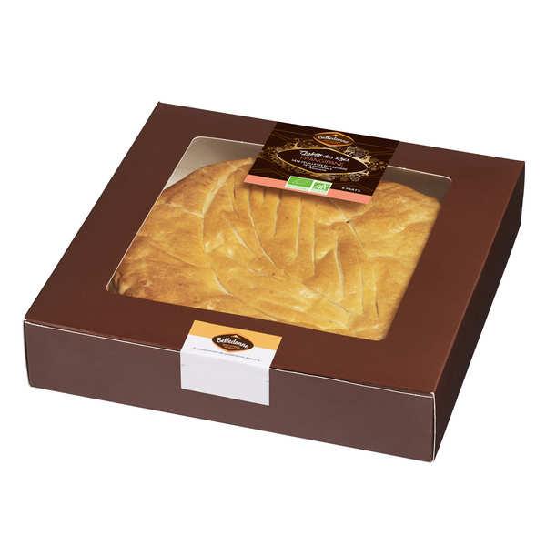 "Organic Galette des Rois Frangipane - ""Epiphany cake"" with almonds"
