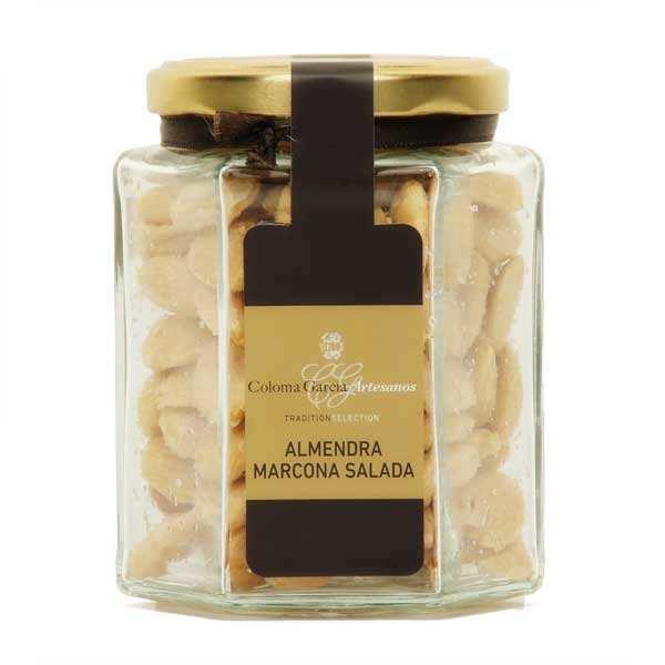Amandes douces torréfiées et salées (variété Marcona)