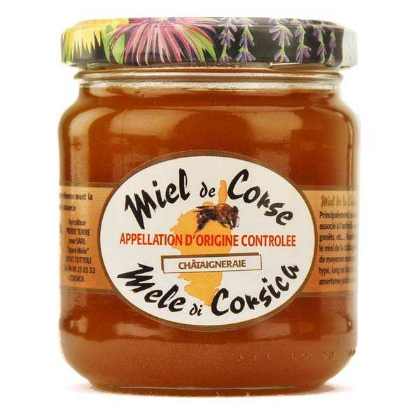 Honey from Corsica - Chestnut grove honey