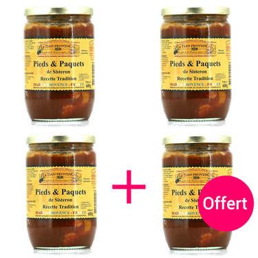 Pieds et Paquets de Sisteron 3+1 offert