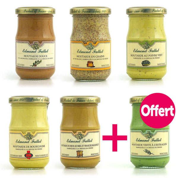 5 mustards + 1 free