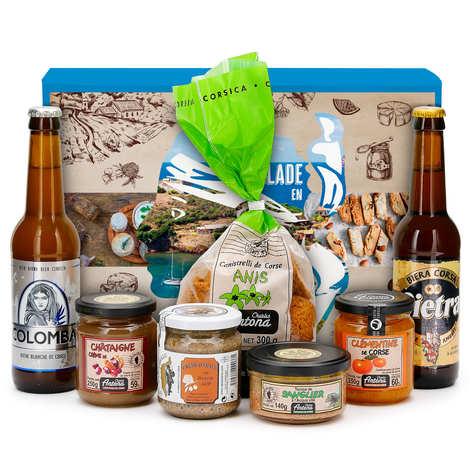 BienManger paniers garnis - The Corsican Gift Box