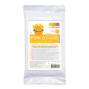 ScrapCooking ® - Orange ready-roll icing