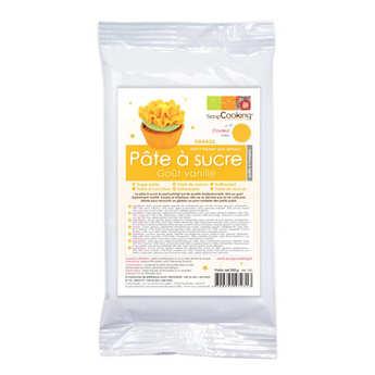 ScrapCooking ® - Orange ready-roll icing