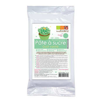 ScrapCooking ® - Green meadow ready-roll icing