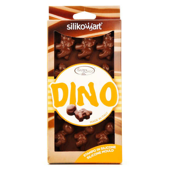 Moule silicone pour chocolat - Dinosaures