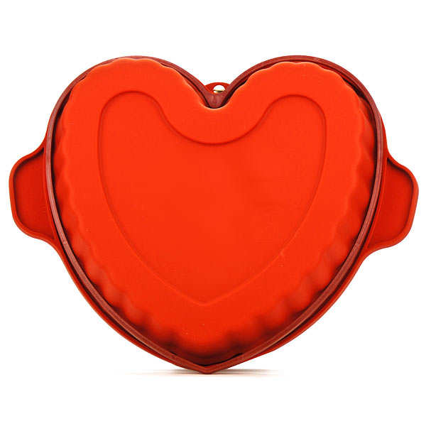 Large silicone heart mould