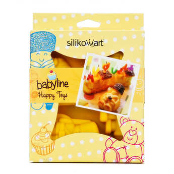 Silikomart - Soldier and tractor mould - babyline