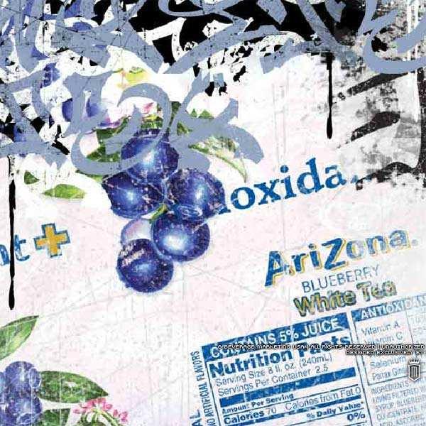 Arizona au thé blanc et myrtilles