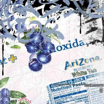 Arizona Iced Tea - Arizona Blueberry White Tea