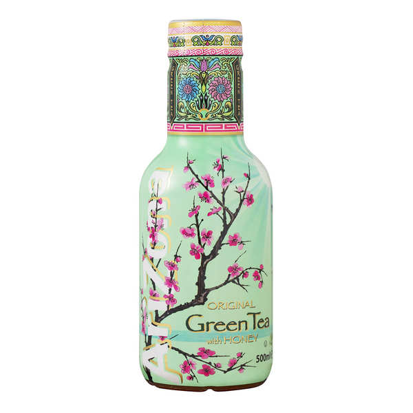 Arizona Green Tea with Honey and Ginseng - Bottle