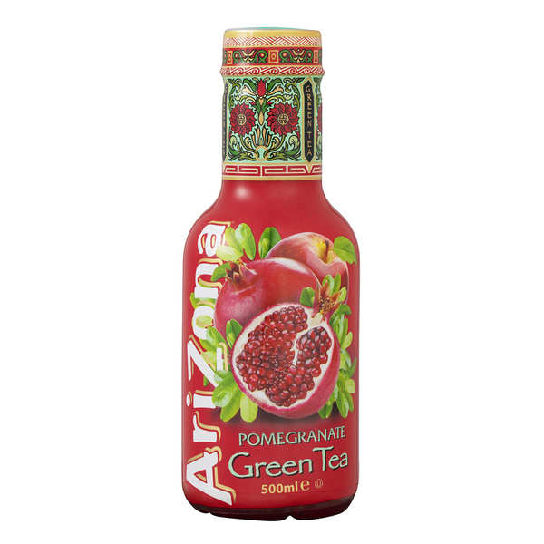 Arizona au th vert et la grenade bouteille arizona iced tea - Grenade fruit comment manger ...