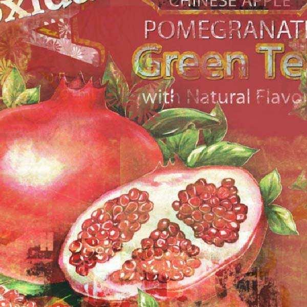 Arizona au thé vert et à la grenade - Bouteille