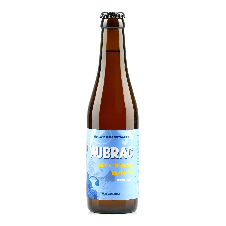 Aubrac White beer from Brasserie d'Olt - 4.5%