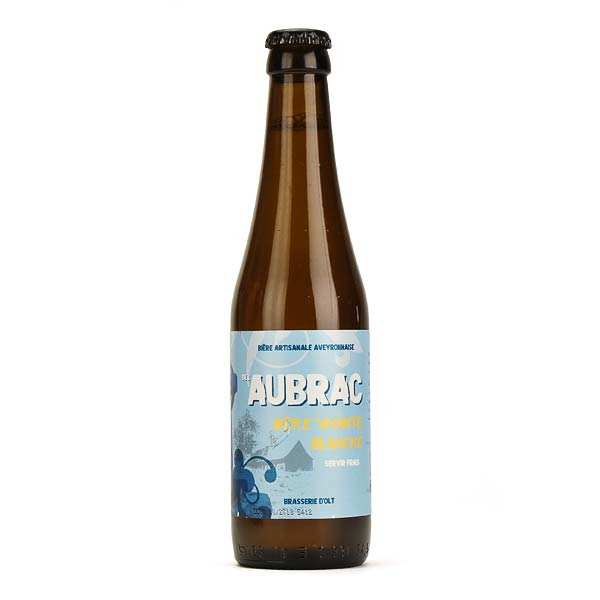 Aubrac White beer from Brasserie d'Olt - 4.5%