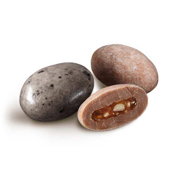 Duo Caramel - Chocolate, nougatine and French Sea Salt