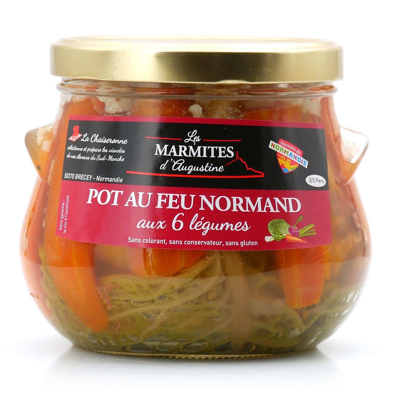 Pot-au-feu Normand with vegetables