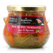 La Chaiseronne - Pot-au-feu Normand with vegetables