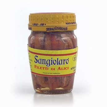 Sangiolaro - Filets d'anchois à l'huile d'olive