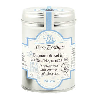 Terre Exotique - Himalayan diamond salt with summer truffle