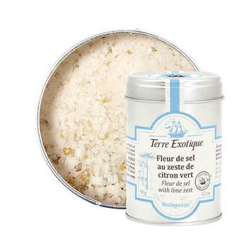Terre Exotique - Fleur de sel au zeste de citron