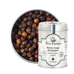 Terre Exotique - Red Pepper from Kampot - Asia