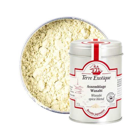 Terre Exotique - Poudre pour wasabi
