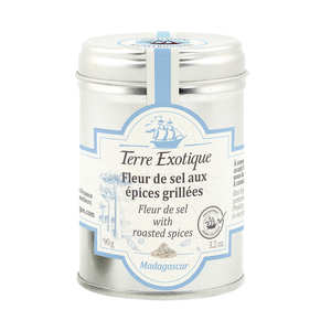 Terre Exotique - Fleur de Sel with grilled spice