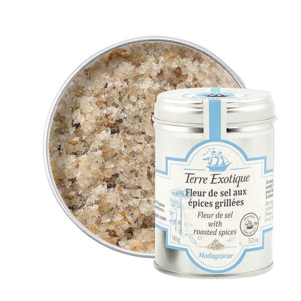 Fleur de sel aux pices grill es terre exotique - Fleur de sel aux epices grillees ...